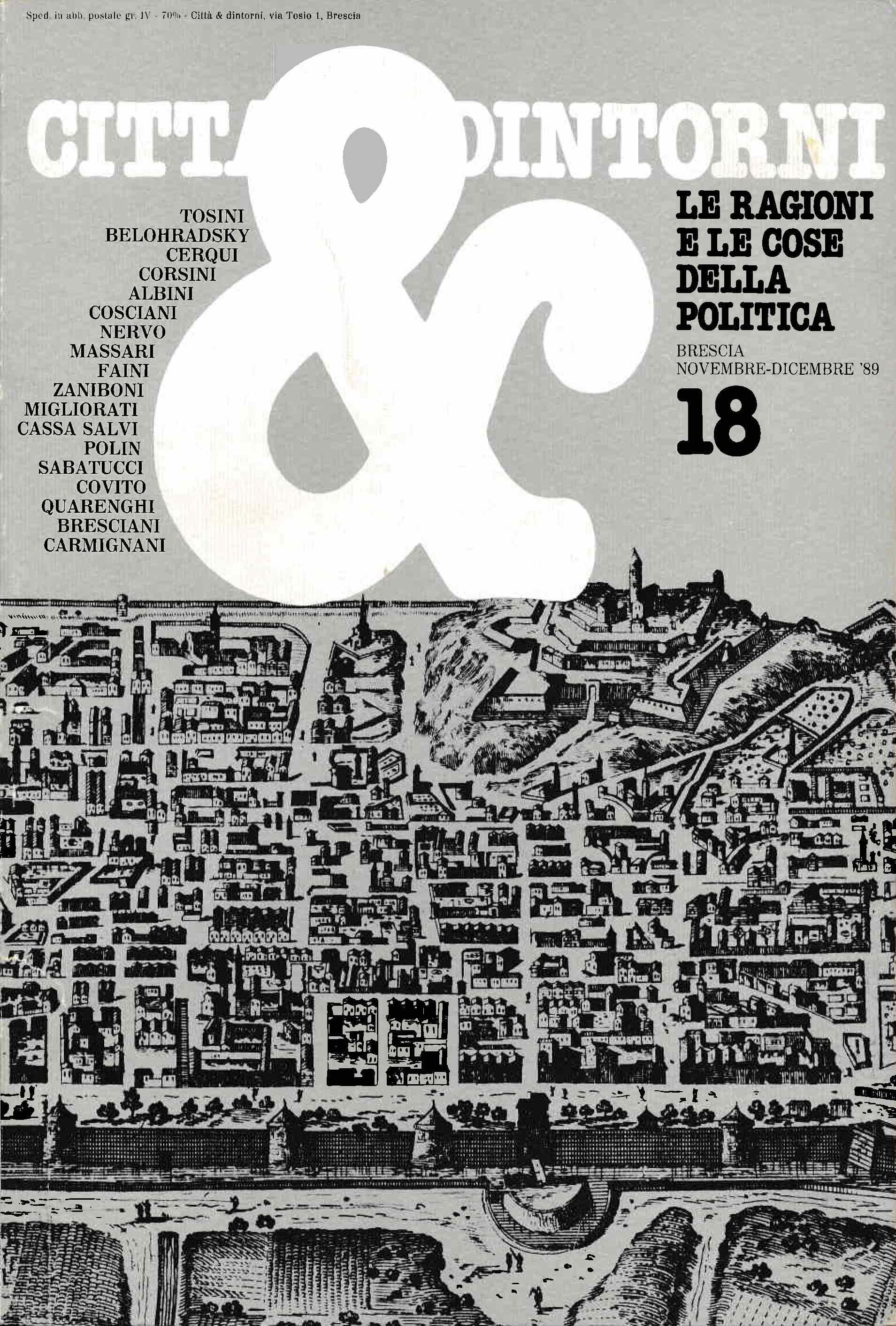 Città & Dintorni. Numero: 1989/18
